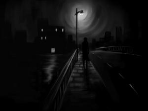 rêver de noir.