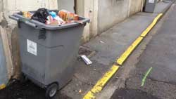 Rêver de poubelle.