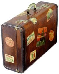 rêver de valise.