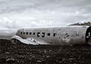 rêver de crash d'avion