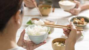 rêver de manger du riz